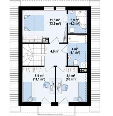Дом в рассрочку до 5-ти лет под 12% годовых в Кемерове Фото 4