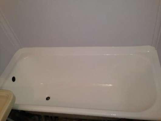 Реставрация ванн, Эмалировка ванны, Наливная ванна в Москве Фото 2