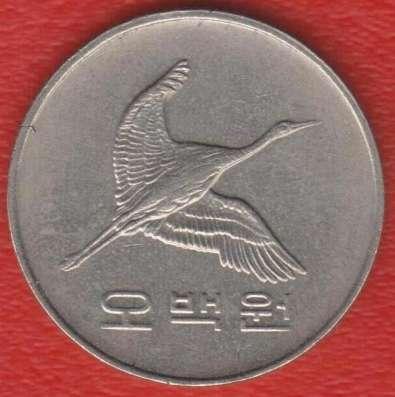 Республика Корея Южная 500 вон 1992 г. в Орле Фото 1