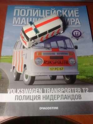 полицейские машины мира №17 V0LKSWAGEN TRANSPORTER T2 в Липецке Фото 3