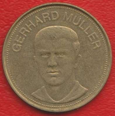 Жетон Shell Шелл Мюллер футбол Traum-elf 1969