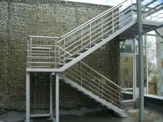 Сварка и монтаж лестниц в Москве Фото 2