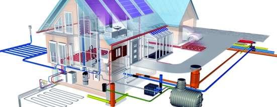 Монтаж инженерных систем (сантехник, электрик)