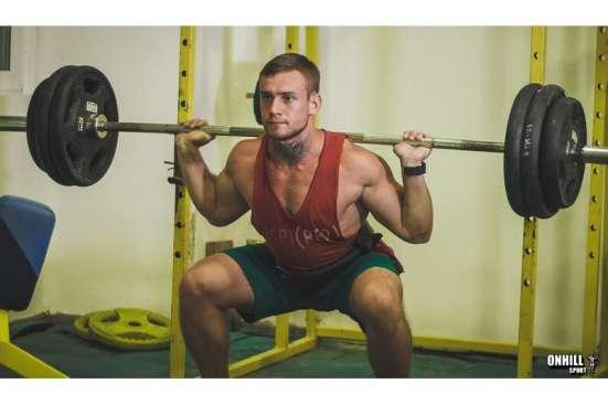 Пояс атлетический для пауэрлифтинга (3слоя кожи) в Москве Фото 1