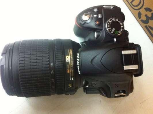 Продам фотоаппарат NIKON D3200 с объективом Nikon 18-105mm в Москве Фото 1