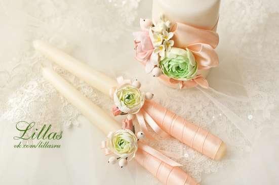 Свадебный семейный очаг с цветами ручной работы