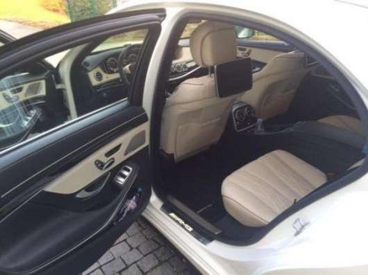 Аренда нового Mercedes-Benz S-class W222 2015. Астана.