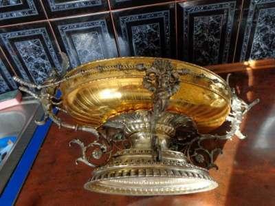 Срочно продам фруктовница серебро 800пр в Москве Фото 3