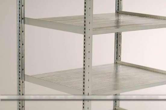 Стеллажи полочные H 0.5-3.0 метра/200 кг на полку