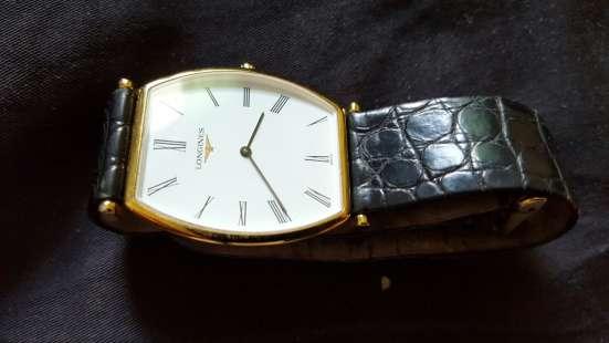 Продаю позолоченные муж. часы Longines L4 705 2