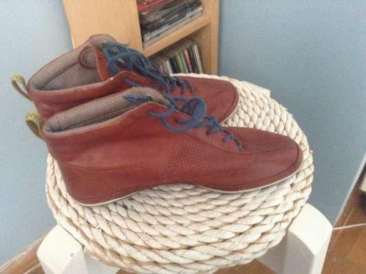 Ботинки спортивные кожаные, Ecco, 36