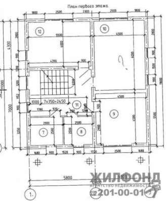 Коттедж, Новосибирск, Крупской 3-й пер, 320 кв. м