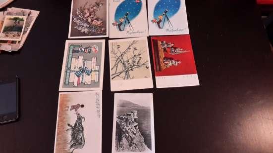 Продам коллекцию открыток с 40-х по 85-х годов