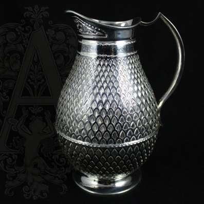 Серебряные кувшины ручной работы от производителя