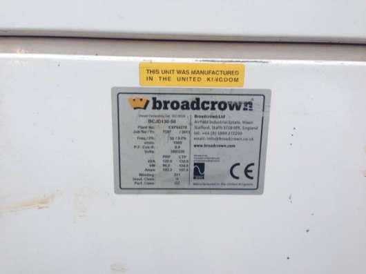 Дизель генератор BroadCrown 130kWa (104 кВт) 2012 г.в. в Москве Фото 1