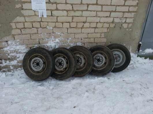 Комплект колес от ВАЗ 21011 с дисками