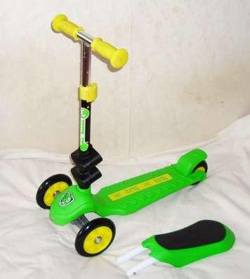 Самокат small rider seat трехколесный с сиденьем регул руль