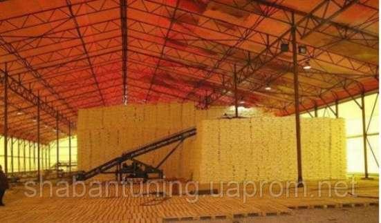 Зернохранилища: быстро возводимые легкие конструкции
