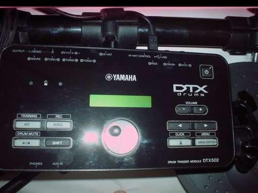 Электронные барабаны в обновлённой серии - Yamaha DTX-502 !