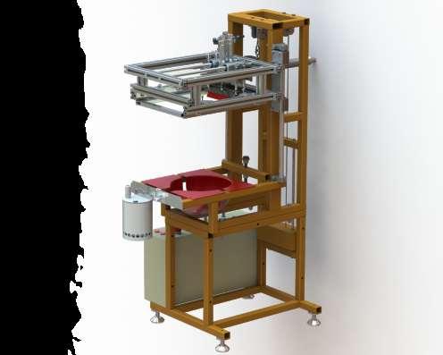 Полуавтоматическая печатная секция. Модель – «СНП – 05»