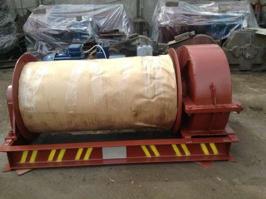 Лебедка маневровая электрическая ЛМ-10 с тросом в г. Алматы Фото 3