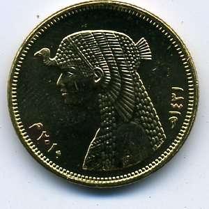 Египет 50 пиастров 2010 г. царица Клеопатра в качестве UNC