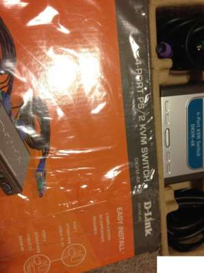 4-Port KVM Switch D-Link dkvm-4K
