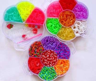 Резинки для плетения браслетов 20000 шт.