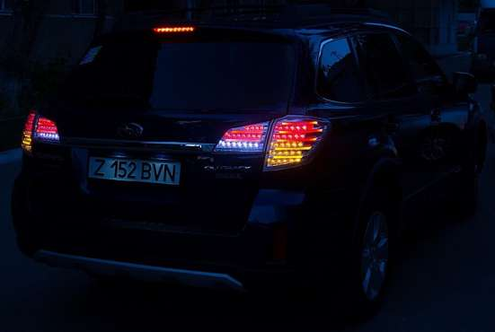 Тюнинг фонари задняя оптика Subaru Outback 2010+ в г. Запорожье Фото 6