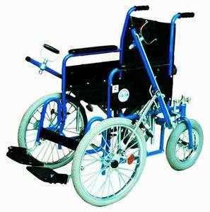 Рычажная инвалидная кресло-коляска мод. 407 в Москве Фото 1