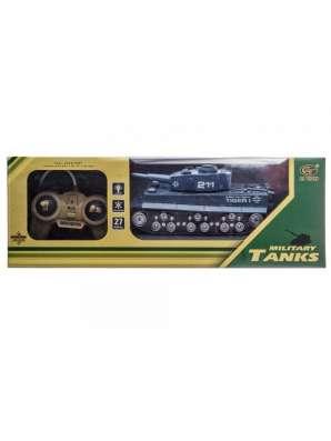 Радиоуправляемый танк с имитацией боя