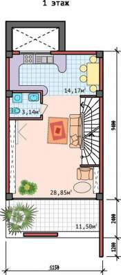Продам таунхаус дом на море ЮБК (Массандра) в г. Ялта Фото 4