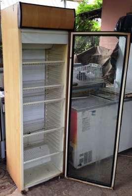 Холодильное оборудование б/у (лари, витрины, шкаф, горка)