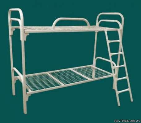 Кровати металлические двухъярусные, кровати для рабочих, кровати оптом, кровати для больницы, армейские кровати. От производителя. в Сочи Фото 5