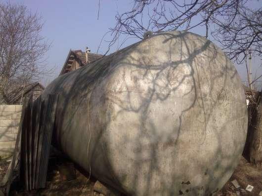 Бочка алюминевая 10-кубовая в г. Тирасполь Фото 1