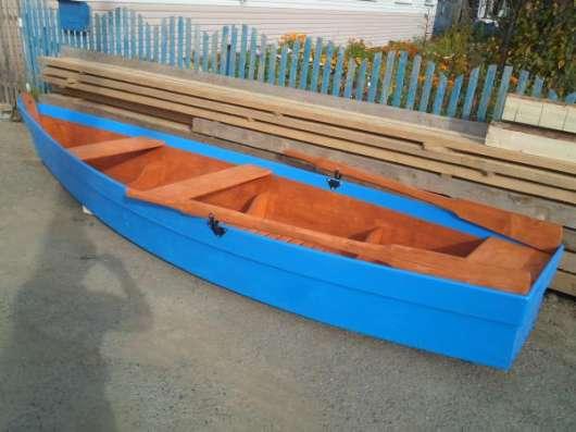 лодку деревянную