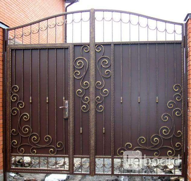 Распашные ворота люберцы ворота металлические распашные в казани